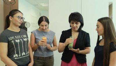 Ed. 14, ep. 6: Challenge smoothie pentru participantele proiectului Slăbește Sănătos