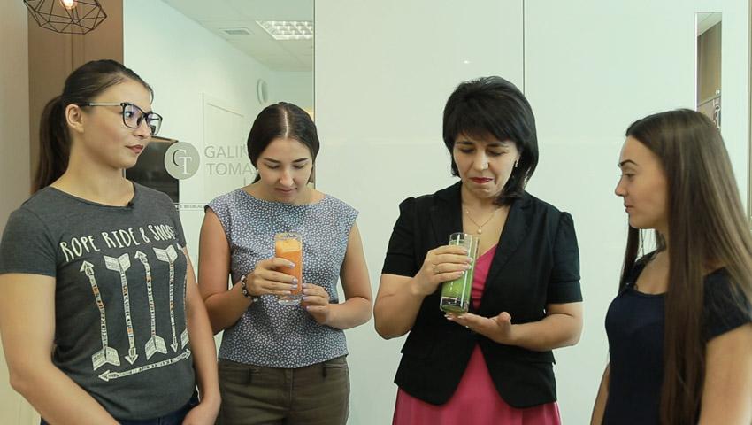 Foto: Ed. 14, ep. 6: Challenge smoothie pentru participantele proiectului Slăbește Sănătos
