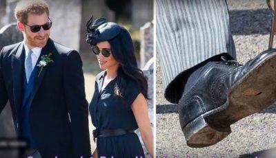 Pantofii Prințului Harry au devenit subiect de știre în presa internațională