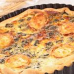 Foto: Tartă cu brânză și măsline