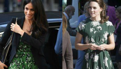 Trucul pe care îl folosesc Kate Middleton şi Meghan Markle, atunci când poartă rochii sau fuste