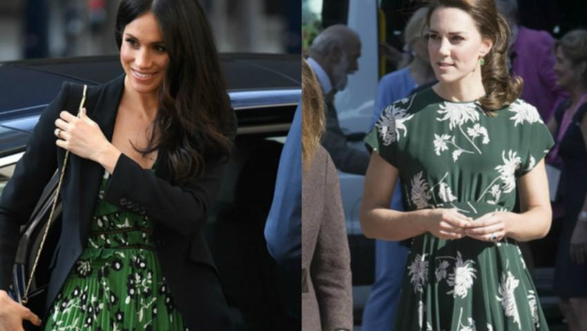 Foto: Trucul pe care îl folosesc Kate Middleton şi Meghan Markle, atunci când poartă rochii sau fuste
