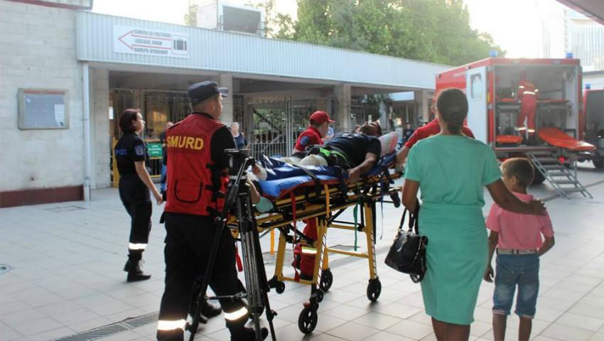 Foto: Patru moldoveni răniți în accidentul din Rusia au ajuns în țară