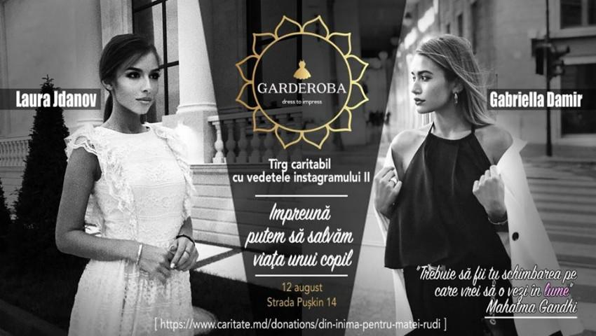 Foto: Fashionistele Laura Jdanov și Gabriella Damir își vând hainele la un târg caritabil