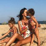 Foto: Lilu și-a etalat silueta de zeiță la plajă!