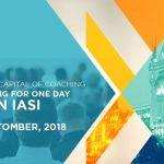 Foto: AGAPE International Coaching Conference 2018 – pe 4 octombrie, capitala mondială a coaching-ului se va muta la Iași!