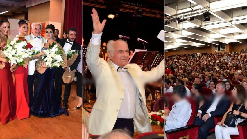 Foto: Maestrul Eugen Doga a fost invitatul de onoare al orașului Ankara, unde a susținut un concert extraordinar