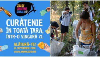 """Alătură-te echipei ,,Hai Moldova"""" și participă la Ziua Globală a Curățeniei, marcată în peste 150 de țări!"""