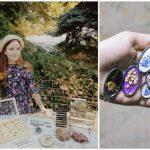 Foto: Conservarea naturii în bijuterii: cercei, coliere și broșe împodobite cu flori vii și ierburi sălbatice