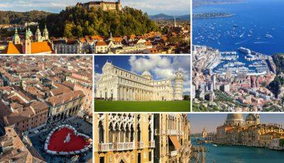 Vizitează 11 orașe europene cu doar 495 de euro