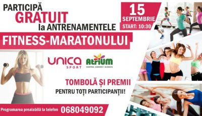 FITNESS-MARATONUL antrenamentelor la UNICA Sport Atrium