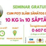 Foto: Seminar GRATUIT la Ungheni: Cum poți slăbi ONLINE, de acasă!