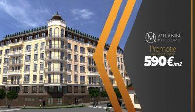 Milanin Residence: Grăbește-te să procuri un apartament cu trei camere la preț de doar 590€/m²