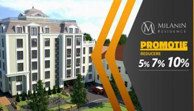 Milanin Residence: Primește reducere la procurarea unui apartament cu avans!