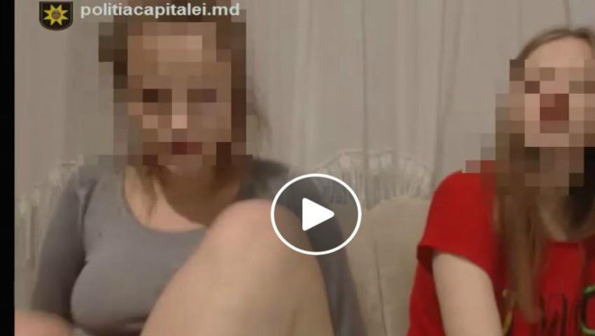 Foto: Video. Un cuplu din Capitală recruta tinere și le obliga să facă videochat