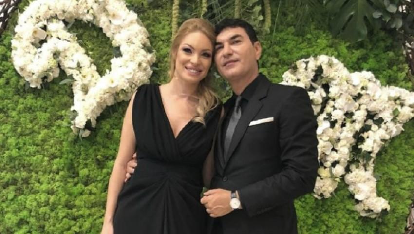 Foto: Valentina Pelinel s-a căsătorit cu Cristi Borcea. Cei doi vor deveni părinți de gemeni