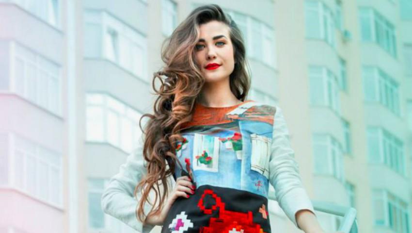 Foto: Designerul Irina Madan a cucerit-o pe Antonia!