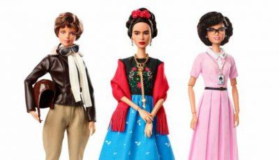 Vezi cum arată noile păpuși Barbie care întruchipează femei celebre