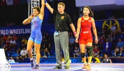 Moldoveanca Anastasia Nichita a devenit campioană mondială la lupte