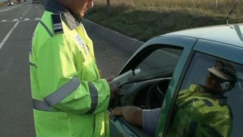 Un șofer a fost amendat pentru un pahar de must