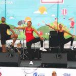 """Foto: Echipa Unica SPORT a promovat stilul sănătos de viață la Festivalul ,,Bucurie în mișcare""""!"""