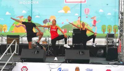"""Echipa Unica SPORT a promovat stilul sănătos de viață la Festivalul ,,Bucurie în mișcare""""!"""