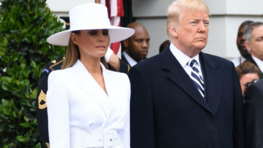 Foto: Dezvăluiri despre relația dintre Melania și Donald Trump