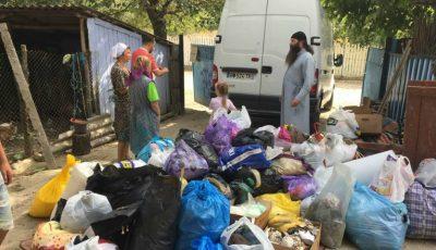 Un preot din Chișinău a oferit ajutor mai multor copii dintr-o localitate din raionul Hâncești