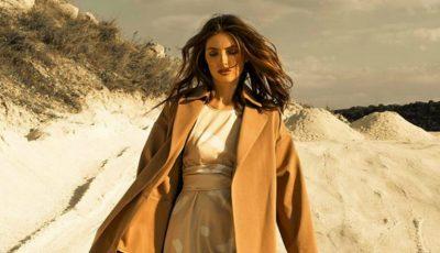 Irina Negară, pasională și elegantă în ținutele unui brand autohton