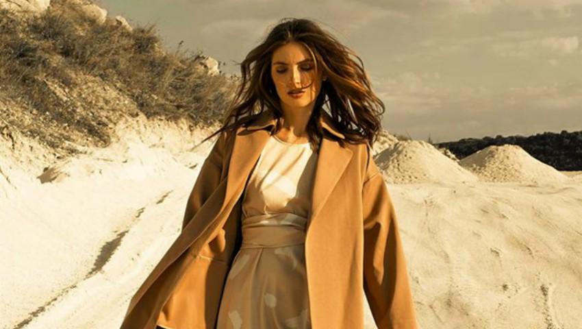 Foto: Irina Negară, pasională și elegantă în ținutele unui brand autohton