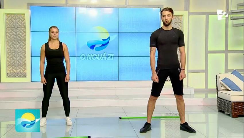 Foto: Set de exerciții pentru o postură de invidiat. Video!