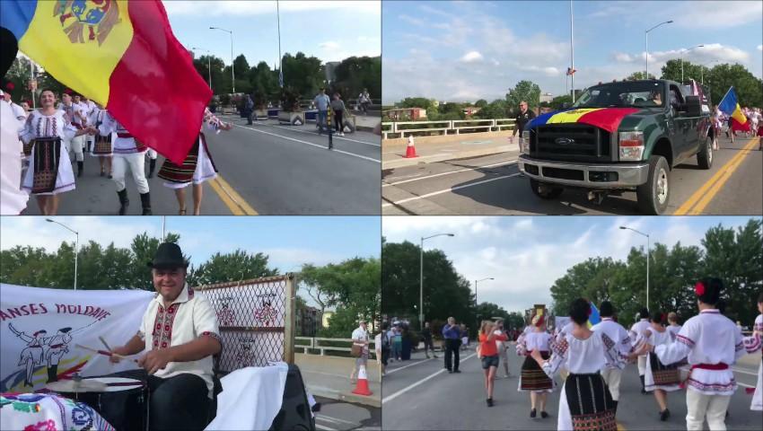 Foto: Video! Muzica moldovenească a răsunat pe străzile din Canada