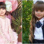 """Foto: ,,Cea mai frumoasă fetiță din lume"""" a mers în clasa întâi. Foto/Video"""