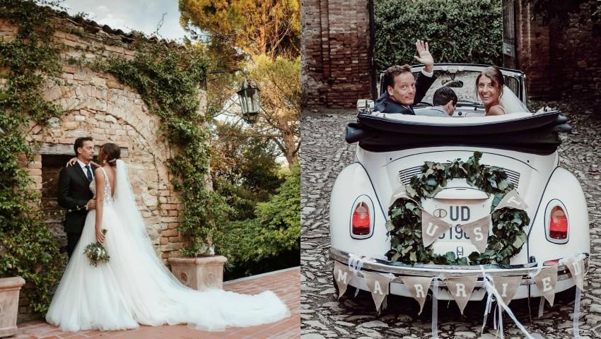 Foto: Tradiții moldovenești la nunta Cristinei Surdu și a iubitului ei, arhitectul italian Luca Corradi. Video impresionant!