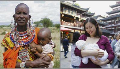 Proiect foto inedit, cu mame din diferite colțuri ale lumii care alăptează
