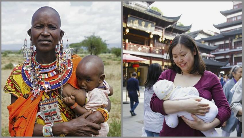 Foto: Proiect foto inedit, cu mame din diferite colțuri ale lumii care alăptează