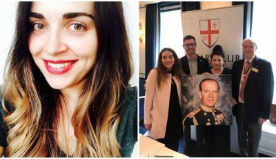 Tânăra din Moldova care a pictat tabloul Prințului Philip și a ajuns faimoasă la Casa Regală!