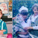 Foto: Vedetele își amintesc prima zi de școală! Ți-ai dat seama cine sunt școlărițele din poze?