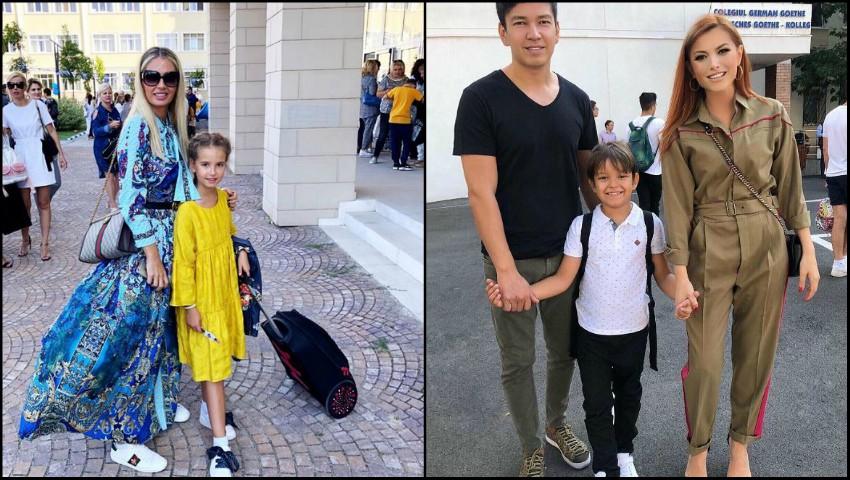 Foto: Vedetele din România și-au dus copiii la școală