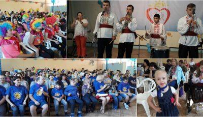 Copiii cu dizabilități și-au demonstrat talentul, în cadrul Festivalului Internațional de creație incluzivă