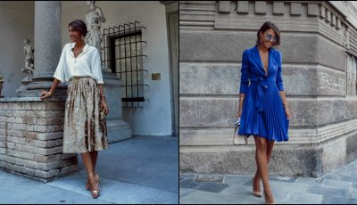 Bloggerița Cristina Surdu a lansat propria colecție de haine. Foto