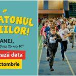 """Foto: ,,Maratonul Copiilor"""", evenimentul care îmbină sportul și caritatea revine cu cea de-a V-a ediție!"""