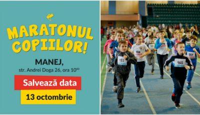 """,,Maratonul Copiilor"""", evenimentul care îmbină sportul și caritatea revine cu cea de-a V-a ediție!"""