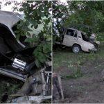 Foto: Accident violent. Un tânăr de 21 de ani s-a stins pe loc