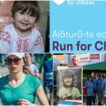 Foto: Susține echipa #RunForChildren, la Maratonul Internațional Chișinău: circa 120 de alergători vor ajuta 3 familii sărace care cresc 14 copii!