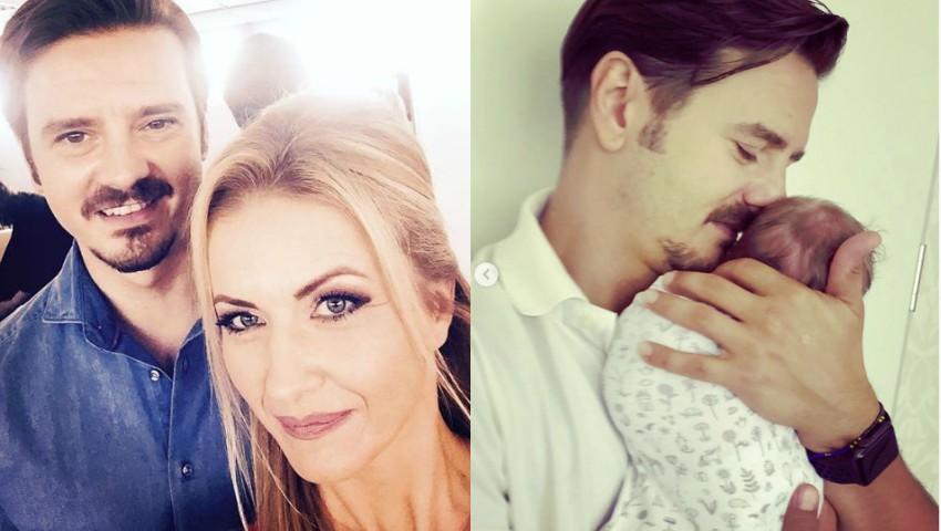 Foto: Mihai Petre a dezvăluit ce nume va purta fetița sa