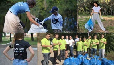 Persoane publice, reprezentanți ai ambasadelor, dar și simpli cetățeni, s-au mobilizat pentru a face Moldova mai curată!