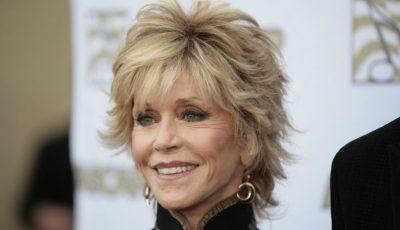 Actrița Jane Fonda regretă că a apelat la chirurgia plastică