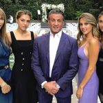 Foto: Un soț și un tată împlinit! Sylvester Stallone, alături de fetele sale