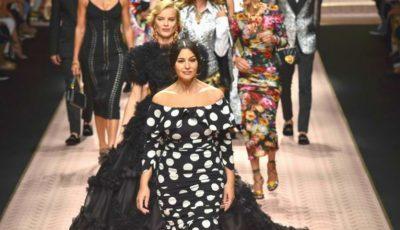 Divele anilor '90 au arătat impecabil pe podium, la Milan Fashion Week